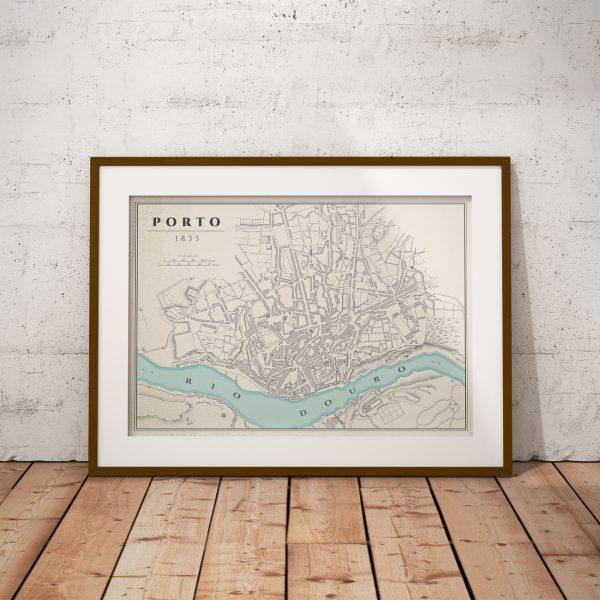 Mapa do Porto