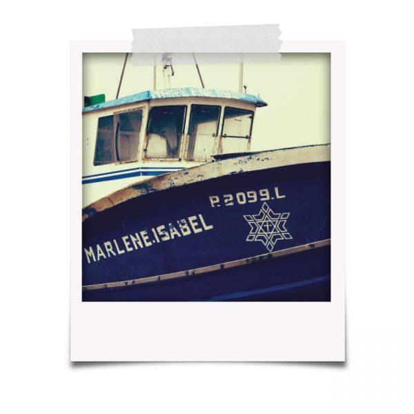 Polaroids com Barco de pesca na Afurada