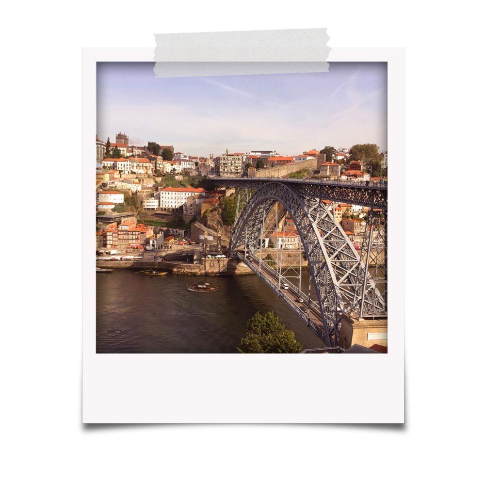 Ponte Luís I vista de Gaia