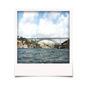 Ponte Luís I vista do rio