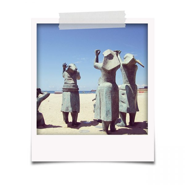 Polaroids da Praia de Matosinhos