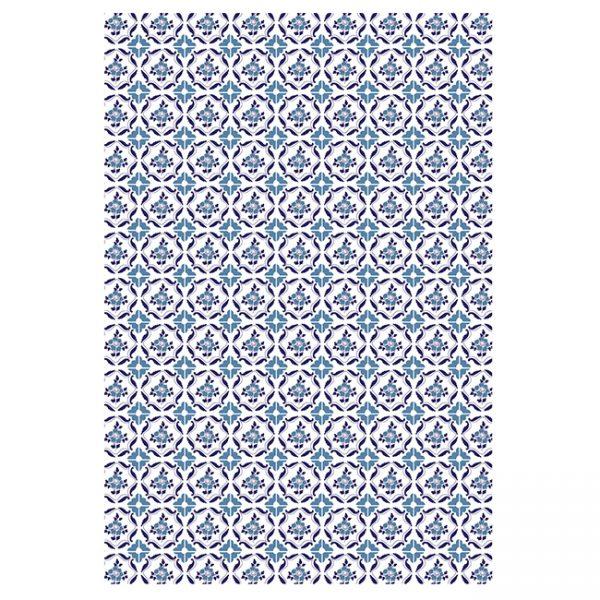 Postais de azulejos portugueses